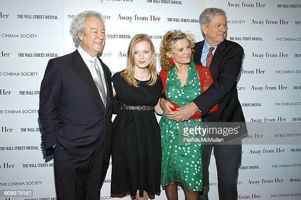 Gordon Pinsent Sarah Polley Julie Christie and Michael Murphy attend THE CINEMA SOCIETY and THE WALL STREET JOURNAL host a screening of 'Away from...