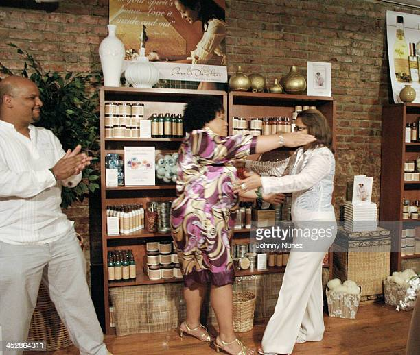 Gordon Price Lisa Price and Seletha Smith Nagin attend the charity shopping event at Carol's Daughter at the 2008 Essence Music Festival on July 3...