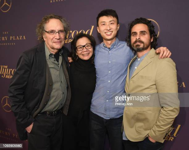 Gordon Quinn Diane Quon Bing Liu and Josh Altman attend The Hollywood Reporter's 7th Annual Nominees Night presented by MercedesBenz Century Plaza...