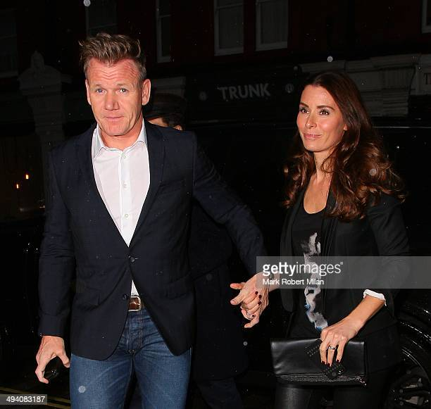 Gordon Ramsay and Tana Ramsay at the Chiltern Firehouse on May 27 2014 in London England