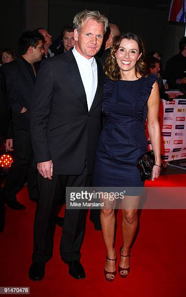 Gordon Ramsay and Tana Ramsay attend the Pride Of Britain Awards at Grosvenor House on October 5 2009 in London England