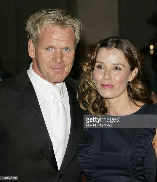 Gordon Ramsay and Tana Ramsay attend the Pride of Britain Awards at the Grosvenor House Hotel on October 5 2009 in London England
