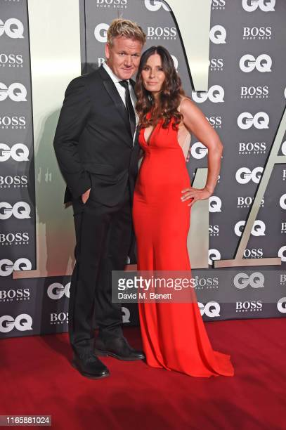 Gordon Ramsay and Tana Ramsay attend the the GQ Men Of The Year Awards 2019 in association with HUGO BOSS at the Tate Modern on September 3, 2019 in...