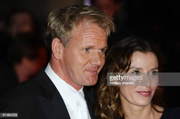 Gordon Ramsay and Tana Ramsay attends the Pride Of Britain Awards at Grosvenor House on October 5 2009 in London England