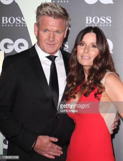 Gordon Ramsay and wife Tana Ramsay attend the GQ Men of the Year Awards held at the Tate Modern Bankside in London