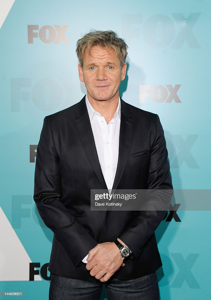 Gordon Ramsay attends attends the Fox 2012 Programming Presentation Post-Show Party at Wollman Rink, Central Park on May 14, 2012 in New York City.