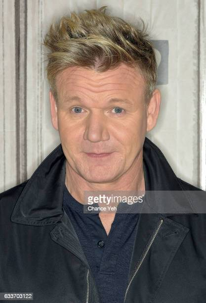 Gordon Ramsay attends Build series to discuss 'MasterClass Gordon Ramsay Teaches Cooking' at Build Studio on February 3 2017 in New York City