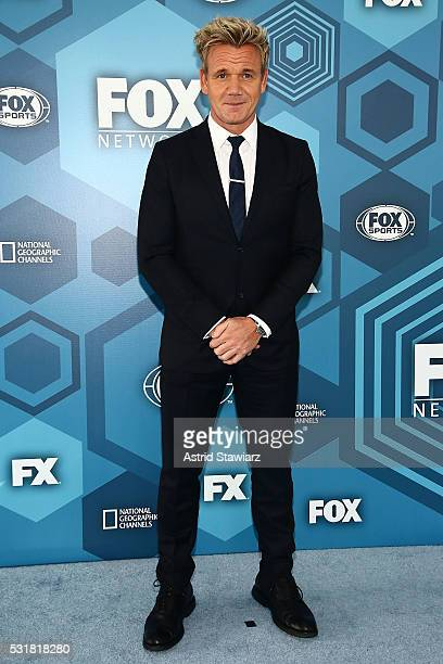 Gordon Ramsay attends FOX 2016 Upfront Arrivals at Wollman Rink Central Park on May 16 2016 in New York City
