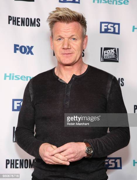 Gordon Ramsay attends 'PHENOMS' 2018 Soccer Documentary MiniSeries Launch Event at the FOX Sports House at SXSW on March 11 2018 in Austin Texas