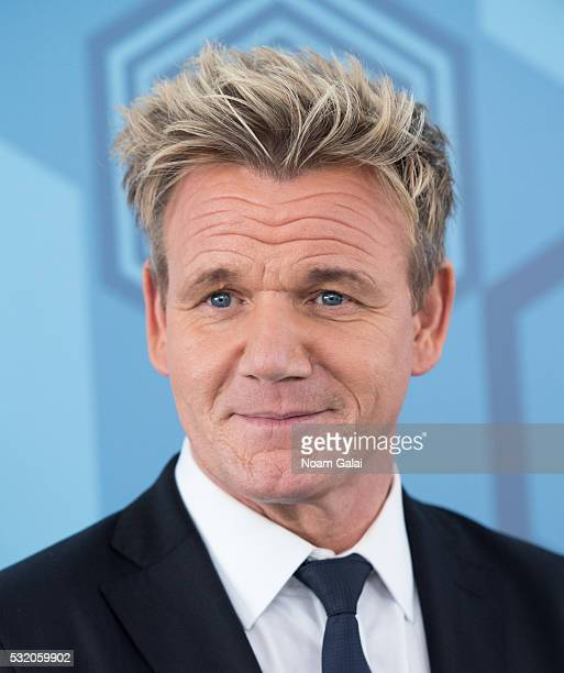Gordon Ramsay attends the 2016 Fox Upfront at Wollman Rink Central Park on May 16 2016 in New York City