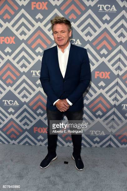Gordon Ramsay attends the FOX 2017 Summer TCA Tour after party on August 8 2017 in West Hollywood California