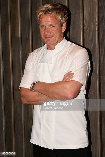 Gordon Ramsay attends the opening party of the Crown Metropol hotel on April 21 2010 in Melbourne Australia