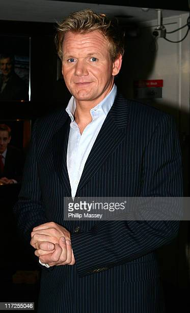 Gordon Ramsay during Guests Arriving at The Late Late Show with Pat Kenny in Dublin - September 22, 2006 at RTE Studios in Dublin, Ireland.