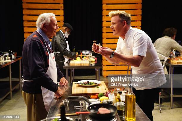 Gordon Ramsay during Master Chef Senior on 'The Late Late Show with James Corden' Thursday March 1 2018 On The CBS Television Network
