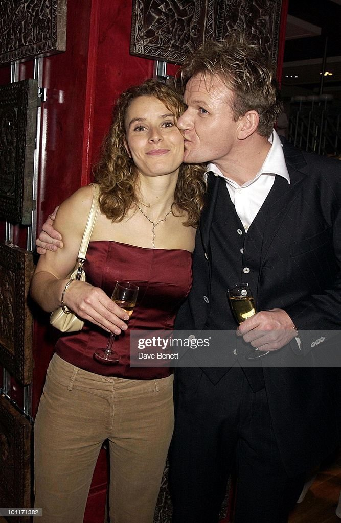 Gordon Ramsay & Wife Tana, Launch Of Gordon Ramsay's New Book 'Secrets' At The Red Fort In Knightsbridge, London.