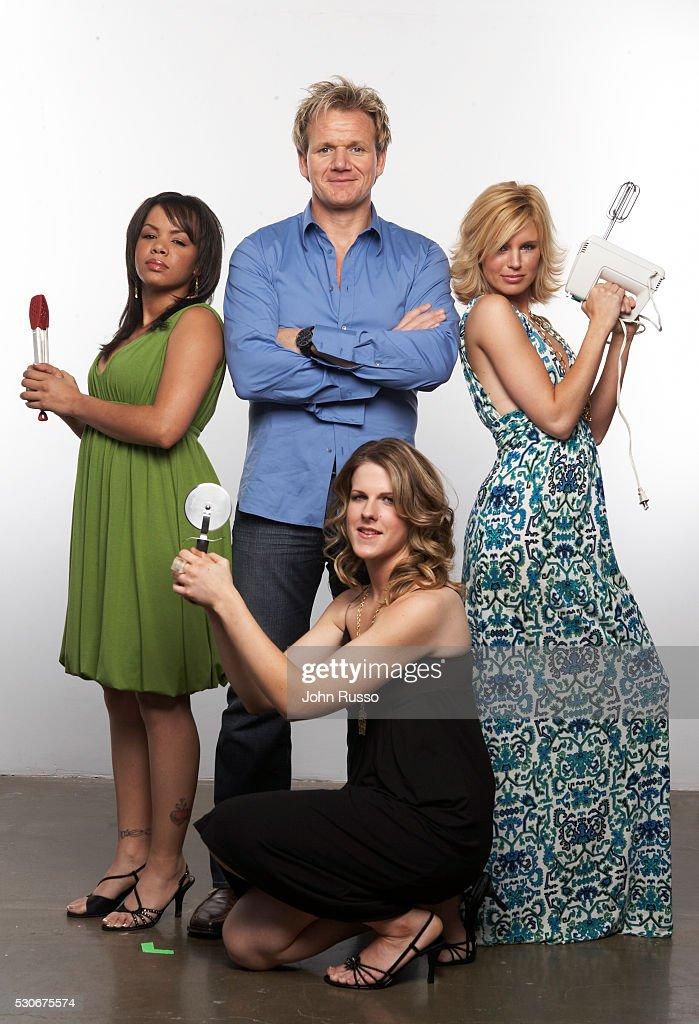 Gordon Ramsay With Hell S Kitchen Contestants Julia Williams