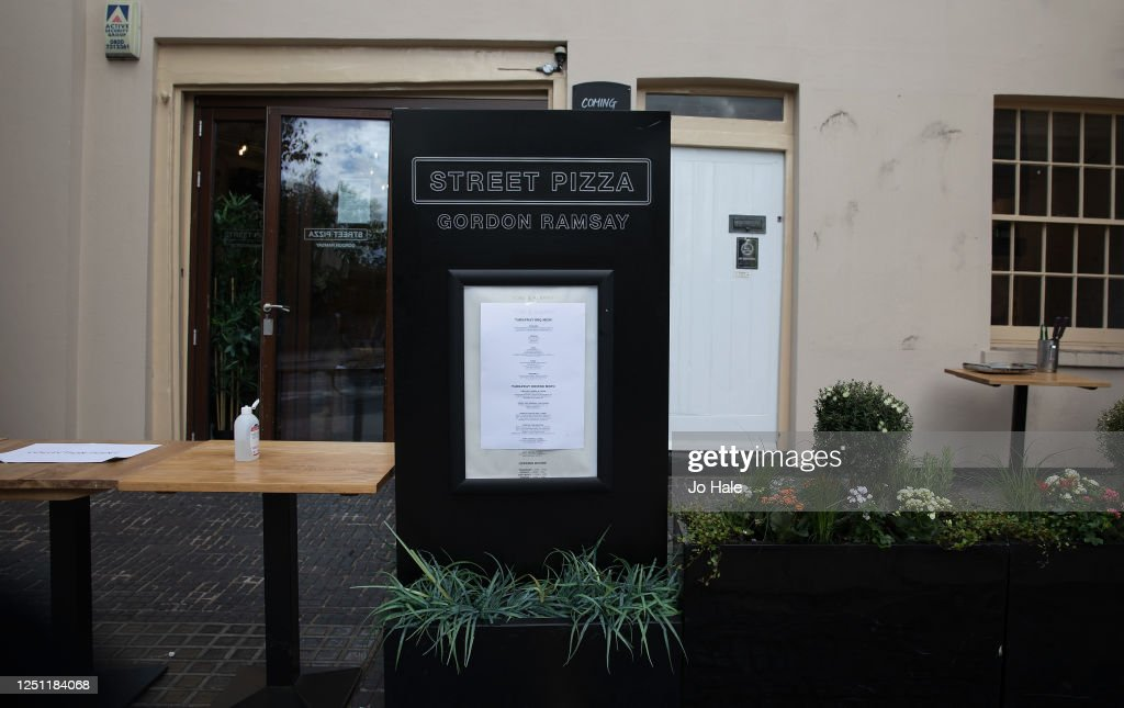 Gordon Ramsay S Take Away Restaurant Menu At The York And Albany News Photo Getty Images