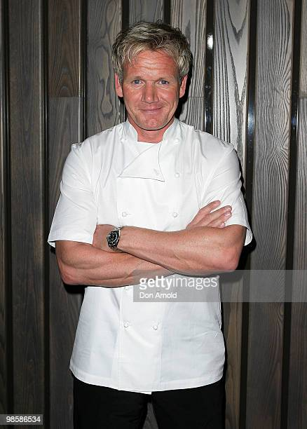 Gordon Ramsey attends the opening party of the Crown Metropol hotel on April 21 2010 in Melbourne Australia