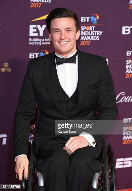 Gordon Reid attends the BT Sport Industry Awards at Battersea Evolution on April 27 2017 in London England