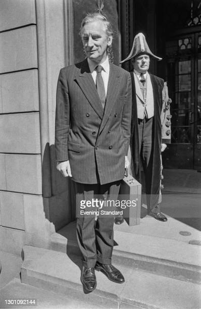Gordon Richardson , later Baron Richardson of Duntisbourne, becomes the new Governor of the Bank of England, London, UK, 2nd July 1973.