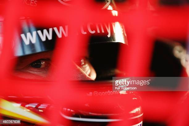 Gordon Shedden of Honda Racing prepares to drive during Race Three of the Final Round of the Dunlop MSA British Touring Car Championship at Brands...