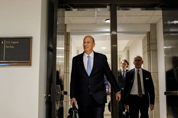 DC: U.S. Ambassador to the European Union Gordon Sondland Testifies Before House Committees