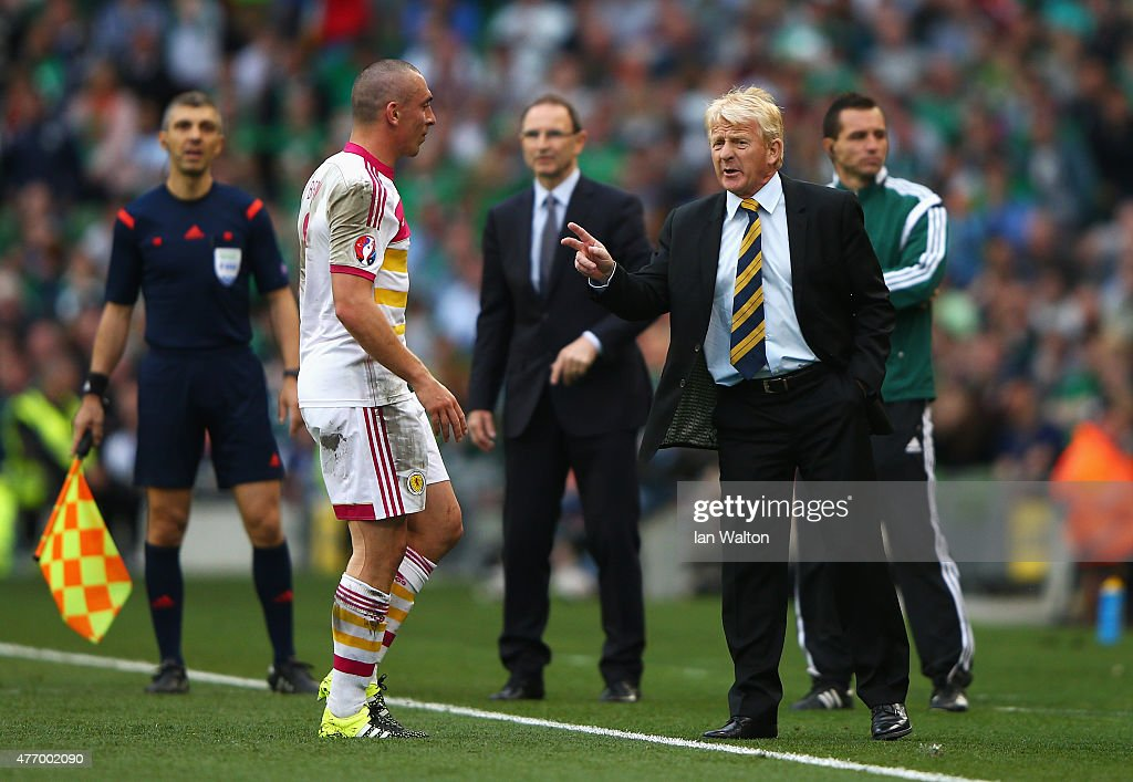 Republic of Ireland v Scotland - UEFA EURO 2016 Qualifier : News Photo