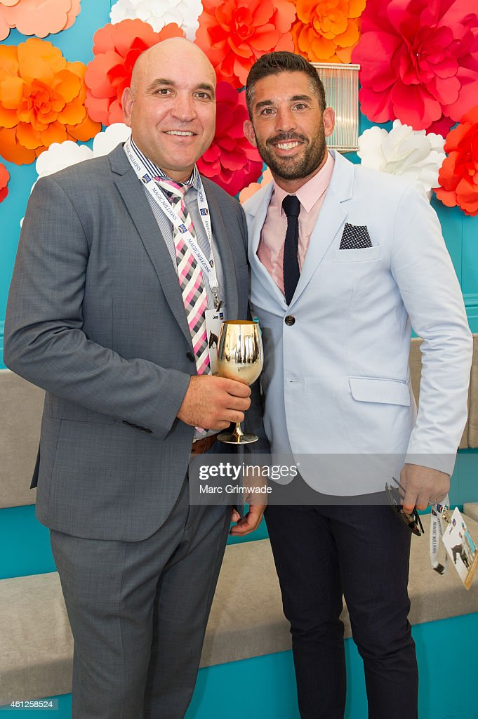 Celebrities Attend Magic Millions Race Day