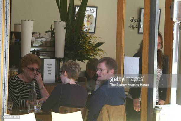 Gordon Wood Case. Suspect in the Caroline Byrne murder case, Gordon Wood, pictured at Cafe Luigi at Kirribilli on 4 May 2006 after he was charged and...