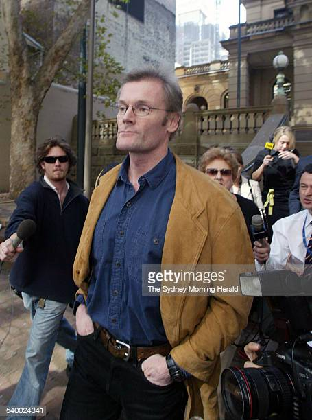 Gordon Wood Case. Suspect in the Caroline Byrne murder case, Gordon Wood, pictured at Central Local Court, Sydney on 4 May 2006. SMH NEWS Picture by...