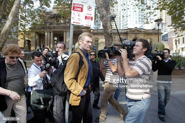 Gordon Wood Case Suspect in the Caroline Byrne murder case Gordon Wood pictured at Central Local Court Sydney on 4 May 2006 SMH NEWS Picture by PETER...