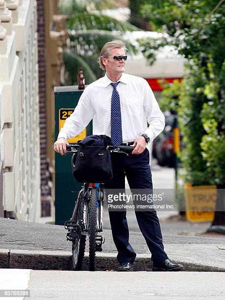 Gordon Wood enroute to Darlinghurst Court on November 17 2008 in Sydney Australia Wood was accused of the murder of model Caroline Byrne whose body...