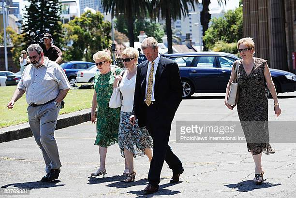 Gordon Wood leaves Darlinghurst Court on November 20 2008 in Sydney Australia Wood was accused of the murder of model Caroline Byrne whose body was...
