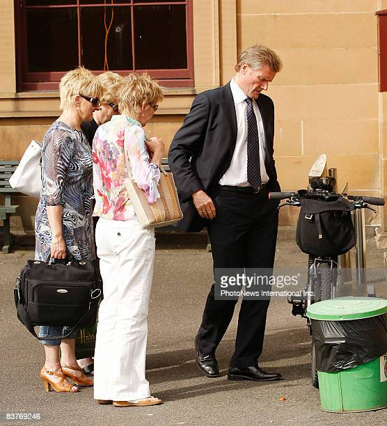 Gordon Wood leaves Darlinghurst Court with his mother and sisters Michele and Jacqueline on November 17, 2008 in Sydney, Australia. Wood was accused...