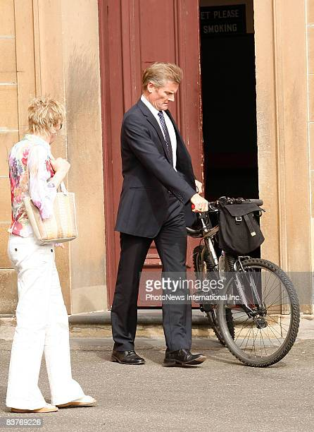 Gordon Wood leaves Darlinghurst Court with his mother Brenda Wood and sisters, Jacqueline and Michele on November 17, 2008 in Sydney, Australia. Wood...