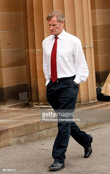 Gordon Wood waits for the Jury to reach its decision at Darlinghurst Court on November 18, 2008 in Sydney, Australia. Wood was accused of the murder...