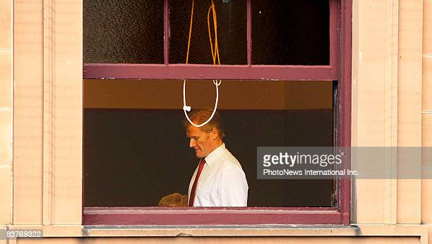 Gordon Wood waits for the Jury to reach its decision at Darlinghurst Court on November 18 2008 in Sydney Australia Wood was accused of the murder of...