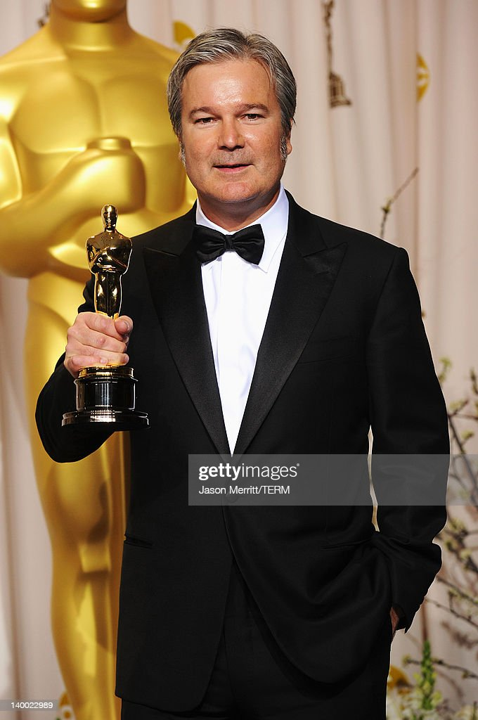 Gore Verbinski, winner of the Best Animated Film Award for 'Rango,' poses in the press room at the 84th Annual Academy Awards held at the Hollywood & Highland Center on February 26, 2012 in Hollywood, California.