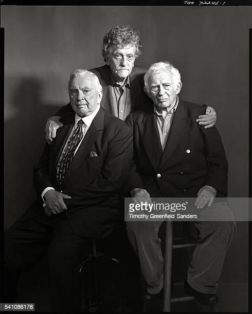 Gore Vidal, Kurt Vonnegut, Jr. And Norman Mailer