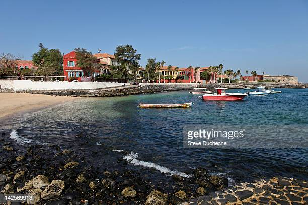 goree island - senegal fotografías e imágenes de stock