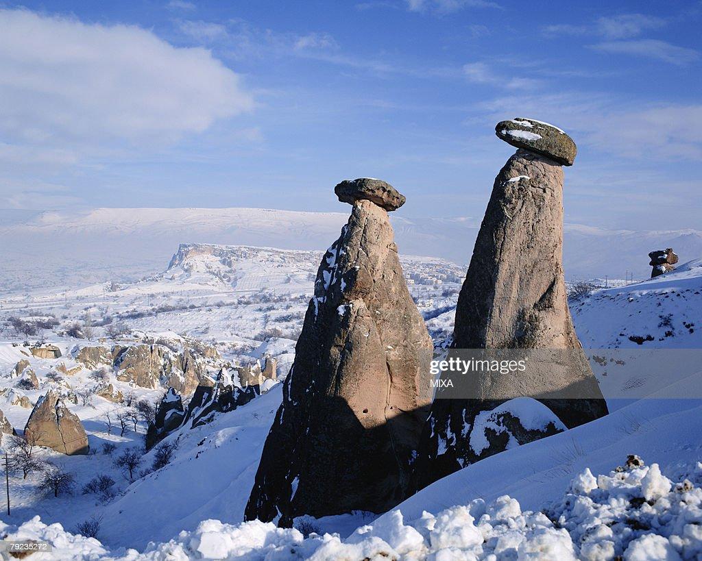 Goreme National Park in Cappadocia, Turkey : Stock Photo