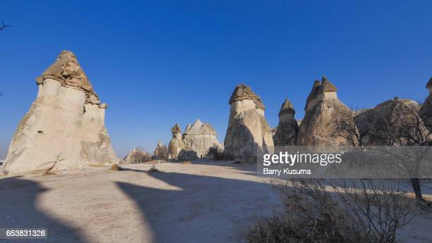 goreme open air museum. - central anatolia stock photos and pictures