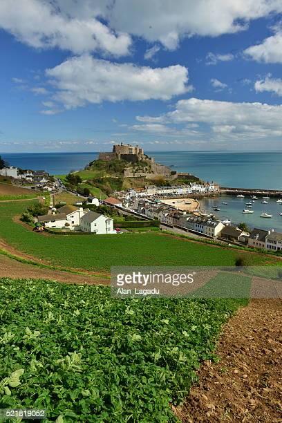 Gorey Castle, Jersey, U.K.