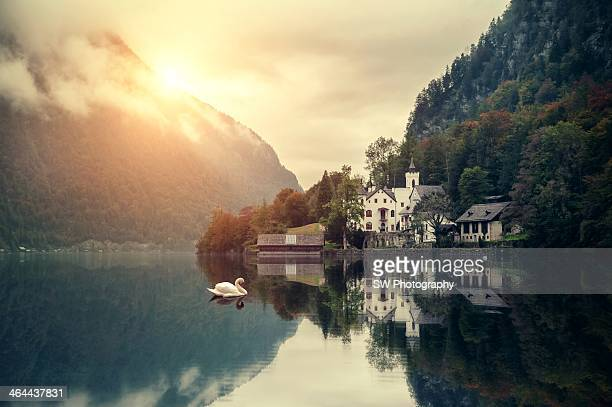 Gorgeous Castle of hallstatt lake