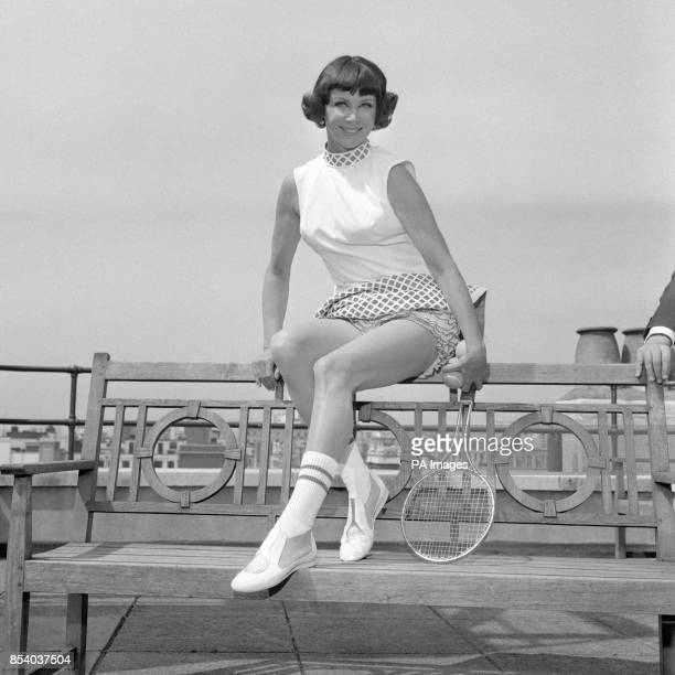 'Gorgeous' Gussie Moran the girl who started Wimbledon by wearing lace panties on court in 1949 is back in London to see the first Open Wimbledon She...