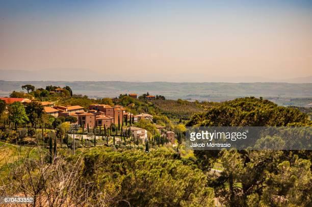 Gorgeous rural Tuscan buildings