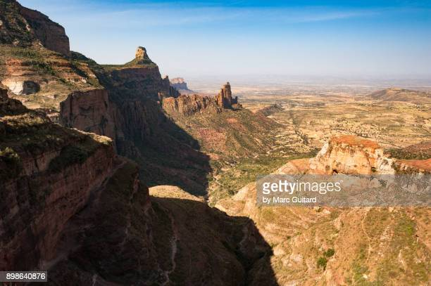 Gorgeous view from the top of the Gheralta escarpment in Tigray, Ethiopia