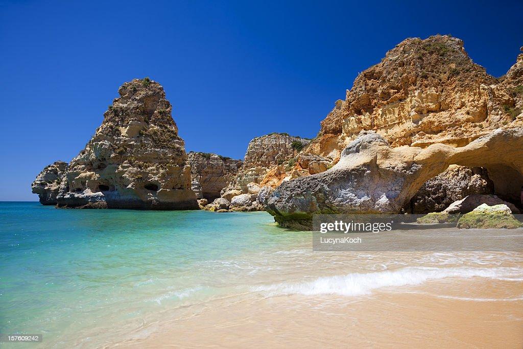 Praia da Marinha : Photo