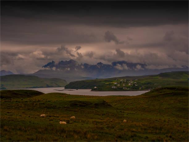 Gorgeous viewpoint, Isle of Skye, inner Hebrides, Scotland, United Kingdom.