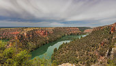 Gorges of Duraton river -Hoces del Rio Duraton-, Segovia, Castilla y Leon, Spain